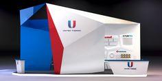 Exhibition stand POSM Industrial Design выставочный стенд