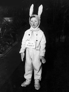 "creepy photographs | ... rabbit"" black and white photo creepy photography stating_the_obvious"