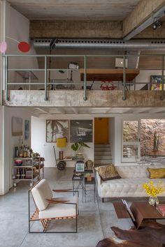 A concrete home in Rio de Janeiro