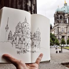 Urban Sketchers: Crossing continents with Amer
