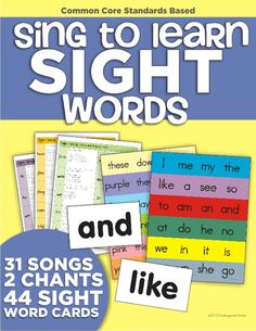KindergartenWorks: five days, five minutes. Sight word songs and weekly routine.