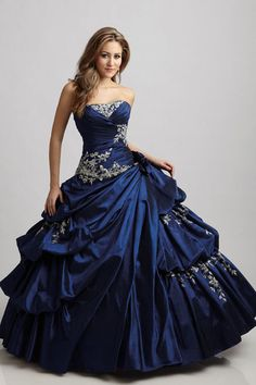 In white, of course...quinceanera dress quinceanera dresses