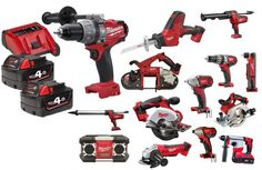 MILWAUKEE 18v Fuel Mix & Match 6pce 4ah Cordless Combo Kit