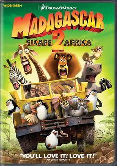 ver Madagascar 2 Escape de Africa 2008 online descargar HD gratis español latino subtitulada