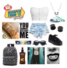 """""""Warped tour outfit #2"""" by sanne-alta on Polyvore"""