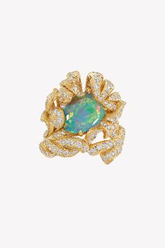 Dior opal and diamond save by Antonella B. Dior Jewelry, Opal Jewelry, October Baby, October Birth Stone, Opal Rings, Birthstones, Pendants, Brooch, Jewels