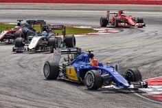An eventful race for Felipe Nasr