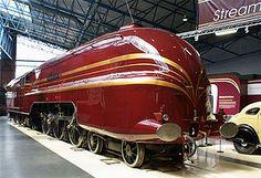 6229 Duchess of Hamilton at the National Railway Museum - Streamliner - Wikipedia