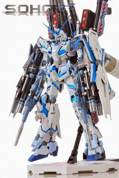 GUNDAM GUY: MG 1/100 Full Armor Unicorn Gundam 'ANA Colors' - Painted Build