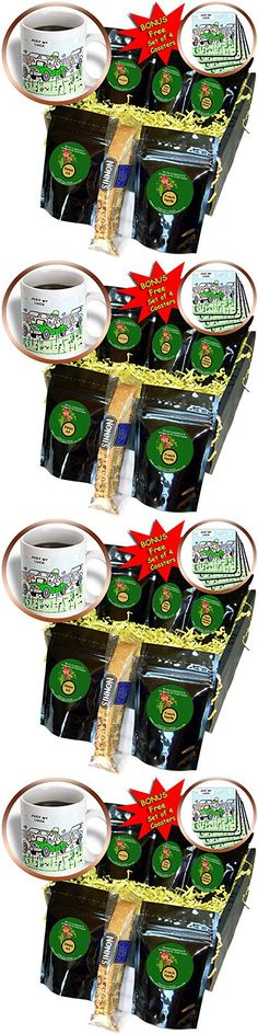 Londons Times Funny Music Cartoons - Luck Of The Irish - Coffee Gift Baskets - Coffee Gift Basket (cgb_2174_1)