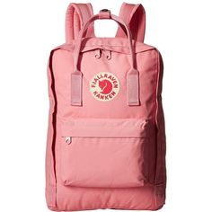 Fjallraven Kanken 15 (Pink) Backpack Bags (345 BRL) ❤ liked on Polyvore featuring bags, backpacks, tote handbags, backpack tote bag, red backpack, water bottle backpack and red tote