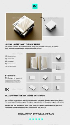 Hard Cover Book Mockup by kapor | GraphicRiver