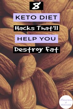 These Keto Diet hacks are THE BEST! I'm so happy I found these GREAT ketogenic diet tips! Now I have some great ways to lose weight and stick to the keto diet. #Macarons&Mochas #KetoHacks Diet Hacks, Diet Tips, Health Diet, Ways To Lose Weight, Mocha, Macarons, Ketogenic Diet, Weight Loss, Fitness Goals