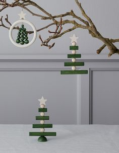 Whether you hang it on the door or in the window, the beautiful small Joulupuu tree gives your home a stylish Christmas mood. Available October Designed by Saija Malila. Maple, ø 16 cm Scandinavian Christmas Decorations, Swedish Christmas, Christmas Mood, Christmas Crafts, Christmas Ideas, Christmas Inspiration, Scandinavian Design, Tree Decorations, Pillar Candles