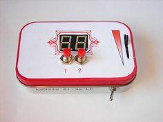 Altoids Tin Multifunction Digital Thermometer