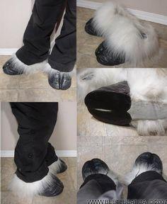 Foot hooves by *Beetlecat