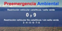 Este miércoles 18 de junio rige Preemergencia Ambiental en la provincia de Santiago, más las comunas de San Bernardo y Puente Alto, entre las 07:30 y las 21:00 horas. Para quienes deban salir de Pirque en vehículo, la restricción regirá para los dígitos 9 y 0 no catalíticos y 3-4-5-6-7-8 no catalíticos.