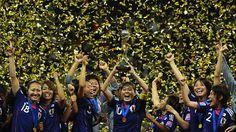 2011 Kadınlar Dünya Kupası'nı kazanan Japon milli takımı www.sporradyosu.com