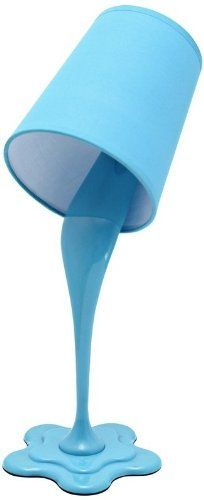 LumiSource LS-L-WOOPSY BU Desk Lamp, Blue