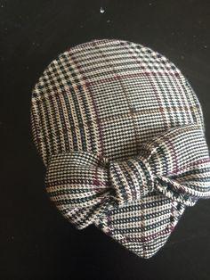 How to make a pillbox hat. Diy Plaid Facinator - Step 12