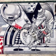 detail by Hownosm in Brooklyn, New York, 2014 (LP)