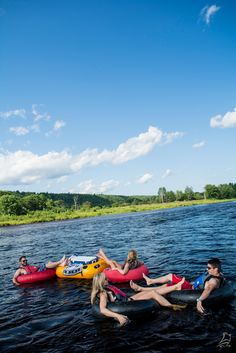 Tubing down the Miramichi River is one of the best summer experiences you can have. Let your cares drift away with the breeze. | New Brunswick, Canada travel #ExploreNB #ExploreCanada