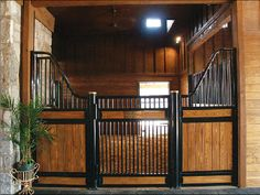 European style stall front from Classical Equine.