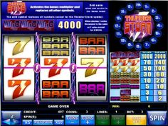 Thunder Storm Slots - Bet three coins on the single payline of this 3-reel slot machine to win the Thunder Storm bonus or any of the many winning combinations listed on the pay table. There is a wild symbol to help complete a winning payline and when betting 3 coins, three Wild symbols pay 4,000.