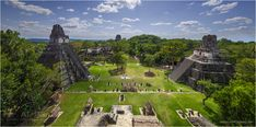 Maya Pyramids, Tikal, Guatemala • Photo Gallery