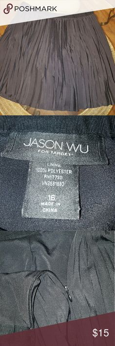 Selling this Jason Wu/Target pleated skirt on Poshmark! My username is: peachysweet74. #shopmycloset #poshmark #fashion #shopping #style #forsale #Jason Wu #Dresses & Skirts