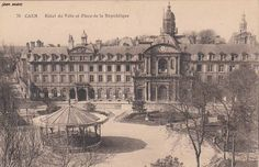 Kiosque à musique Hôtel de ville Caen (Calvados)