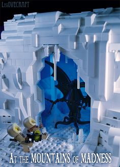 Two great things, Legos and Lovecraft