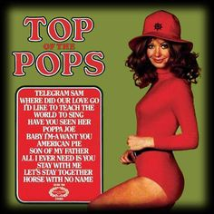 Top of the Pops Compilation LP's Vinyl Albums Records Let's Stay Together, Pop Albums, Love And Co, Pochette Album, American Pie, Lp Cover, Teenage Years, Pop Vinyl, Lps