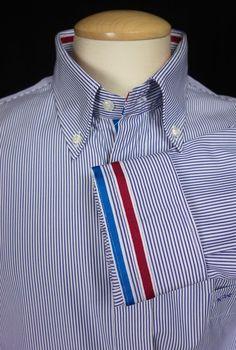 PAUL & SHARK Mens Dress Shirt 46 XL Extra Large Button Down Collar Yachting #PaulShark