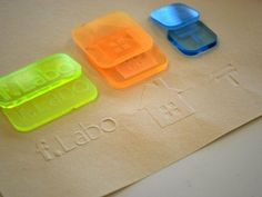 Embossing stamp (f.Labo) by YamashitaKen - Thingiverse