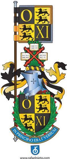 Escudo de armas diseño Fray Rafael