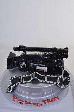 Custom Video Camera cake