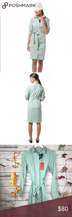 ✨NWT SOUTHERN PROPER Tattersall Henderson Dress Adorable new dress with pockets and waist tie! Southern Proper Dresses