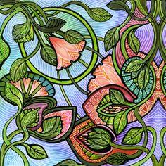 Starry Starry Window fabric by edsel2084 on Spoonflower - custom fabric