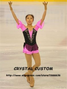 Aliexpress.com : Buy Women Figure Skating Dresses Graceful New Brand  Ice Skating Dresses For Competition DR4137 from Reliable dress popular suppliers on Crystal Professional Custom Figure Skating Dresses Store