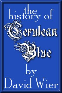 Cerulean Blue My Favorite Color After Red Book Cover Design