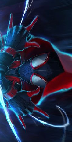 Miles Spiderman, Miles Morales Spiderman, Black Spiderman, Spiderman Art, Amazing Spiderman, Deadpool Wallpaper, Avengers Wallpaper, Cartoon Wallpaper Hd, Marvel Comic Universe