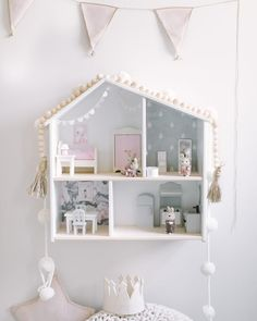 Toddler Girl Room Makeover DIY ikea dollhouse Your kitchen are the heart of a residence. Teen Girl Bedrooms, Little Girl Rooms, Baby Zimmer Ikea, Diy Kallax, Ikea Dollhouse, Toddler Dollhouse, Decoration Ikea, Fantasy Bedroom, Ikea Bedroom