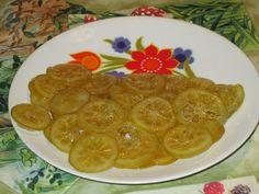 Raccontare un paese: le mie ricette: fette di limone candite