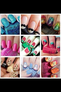 Assorted Nail Art