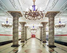 estações de metrô da Russia7
