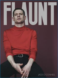 Money Monster star Jack O'Connell dons a red Tom Ford sweater as he covers the latest issue of Flaunt magazine. Sporting designer fashions for the outing, the English actor ventures outdoors for a casual photo shoot with stylist Garth Spencer and photographer Jason Hetherington. Related: Jack O'Connell Makes a Case for Gucci's Monaco Check Suit... [Read More]