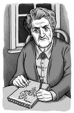 Agatha Christie Mario Zucca illustration