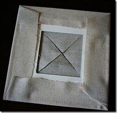 fabric photo mat