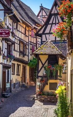 Eguisheim, Alsace, France | by Bob Radlinski